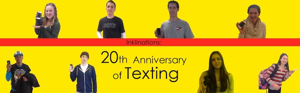 Inklinations 20th texting Web Banner