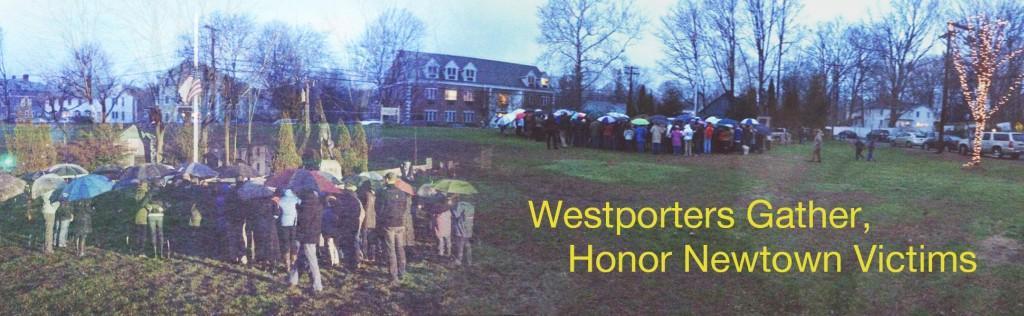 Westporters+Gather%2C+Honor+Newtown+Victims
