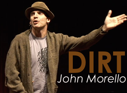 Morello prefers emotional connection to preaching in his one-man show