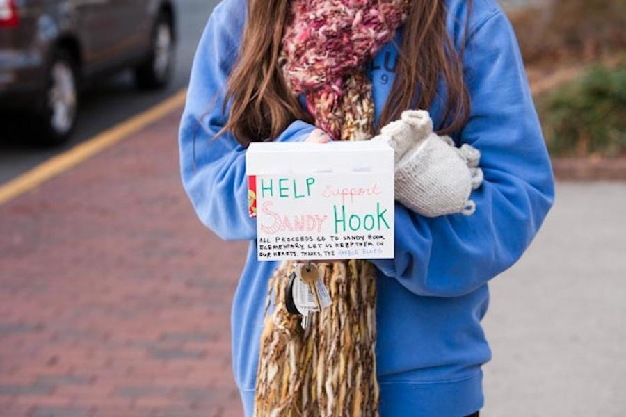 The Harbor Blues raised $1,000 in one day of caroling for Sandy Hook.