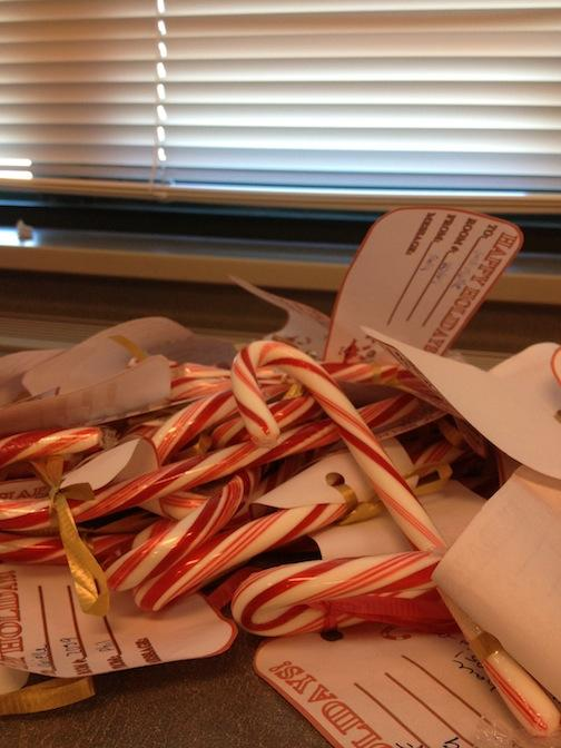 Dec. 20, 2012 | Candy Canes For Everyone!