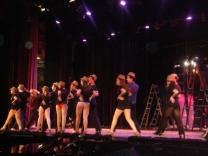 "March 14, 2013 | Staples Players Rehearse for ""A Chorus Line"""