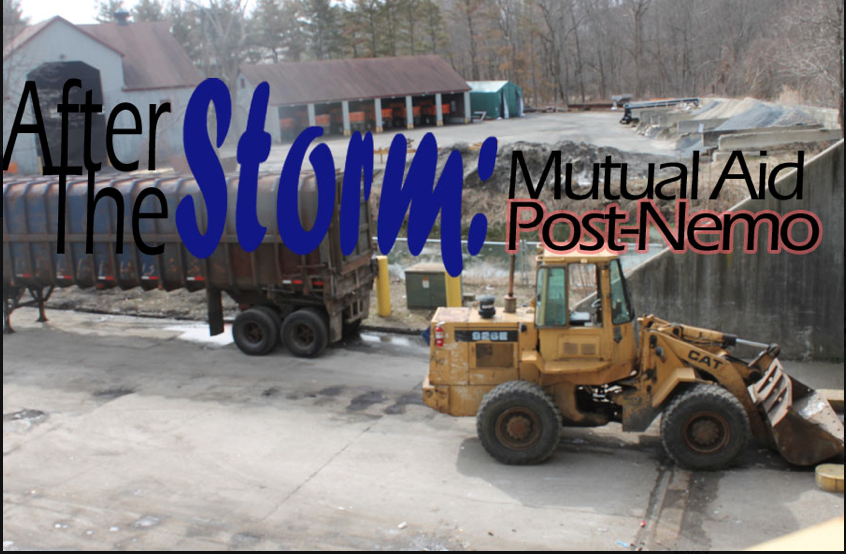 Although Westport did not lend equipment or crews following the storm, there is a system in place for mutual aid which sorts requests based on region.
