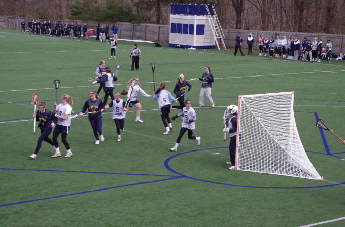 Staples+Girls+Varsity+Lacrosse+Team+Plays+Weston+in+First+Scrimmage+of+the+Season