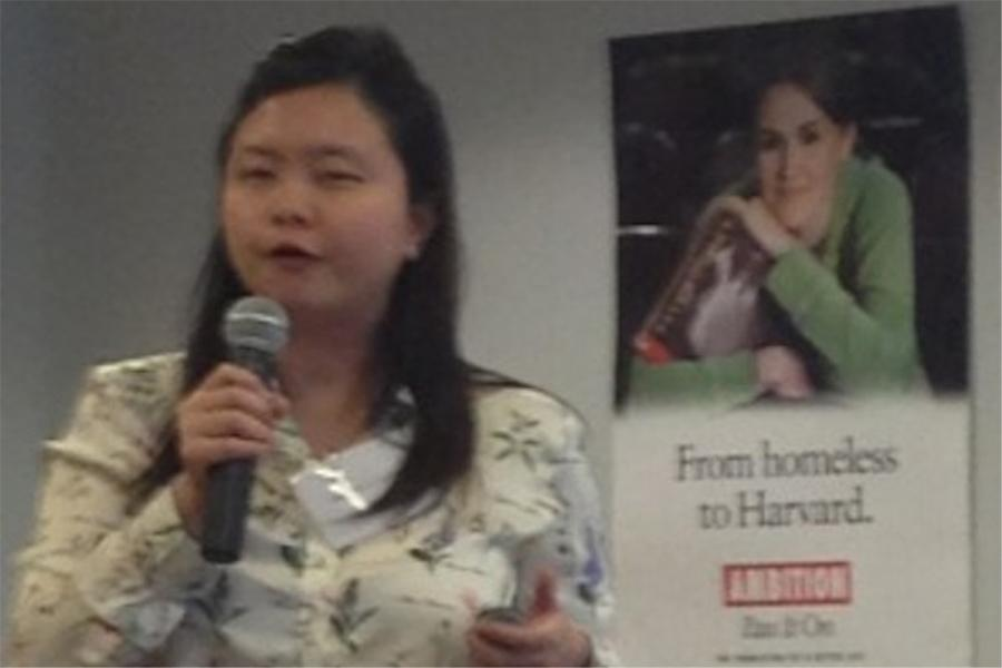 Ai Chin Tan, Dean of Research Studies at Hwa Chong Institute, discusses the partnership between her school and Staples.