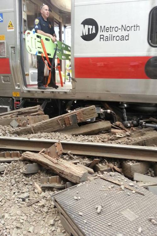 A Metro-North train crash injured 72 and is currently affecting rail service. The aftermath of the collision affects seniors commuting to their internships.