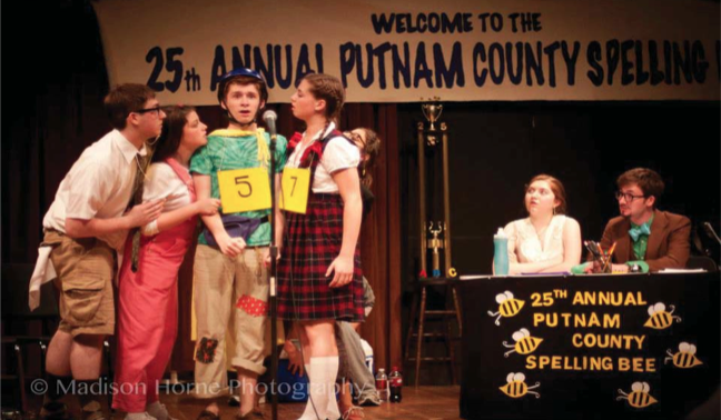 Students+take+part+in+the+25th+Annual+Putnam+County+Spelling+Bee+in+order+to+raise+money+for+Best+Buddies.