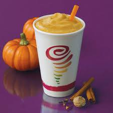 Jamba+Juice%2C+similar+to+Jones+Soda%2C+decided+to+bring+pumpkin+into+otherwise+perfectly+normal+drinks.+Somehow%2C+their+Pumpkin+Smash+Smoothie%2C+cold%2C+thick+pumpkin-flavored+blended+yogurt%2C+does+not+sound+like+the+most+enjoyable+autumn+treat.+I%E2%80%99ll+take+a+pumpkin+spice+latte+over+this+one+any+day.+