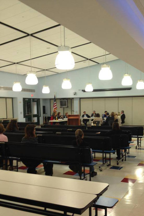 The Board discussed different start times and bussing options for elementary schools at its meeting last Monday.