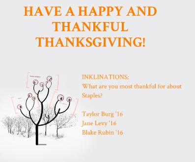 Thanksgiving Inklinations