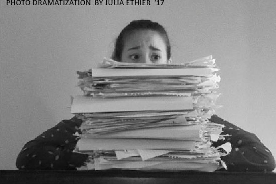 Stress Julia Ethier