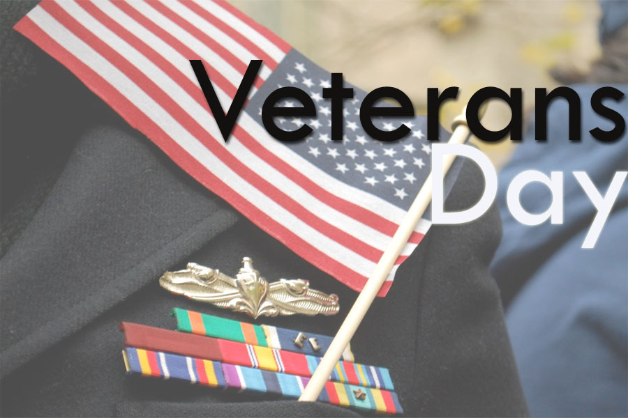 Although Nov. 11 was Veterans Day, students attended school and many classes continued as usual with no mention of the holiday.