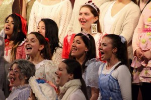Orphenians sing during the Candlelight Concert
