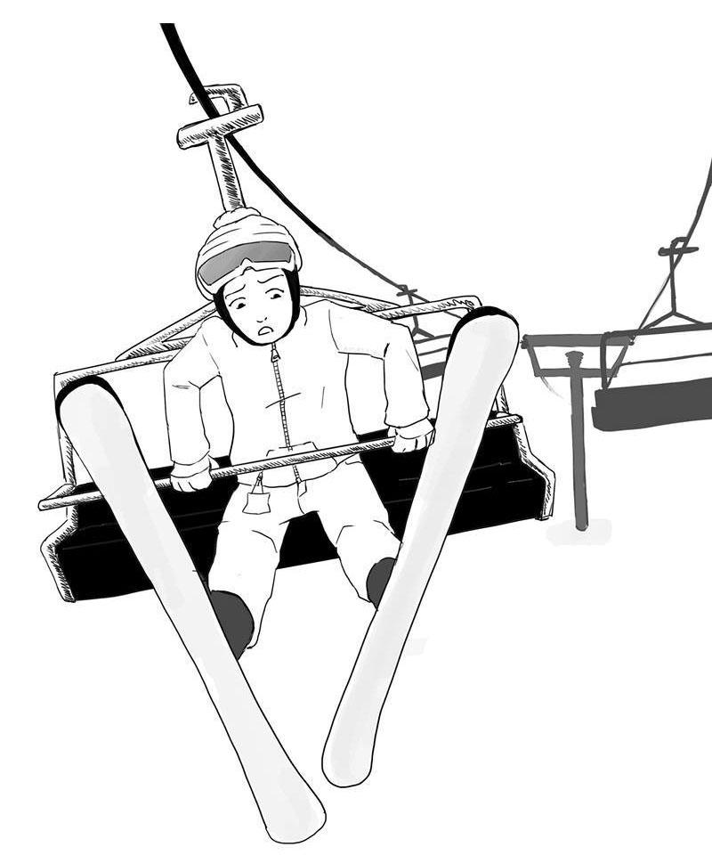 Feared or Funny Chairlift Rides