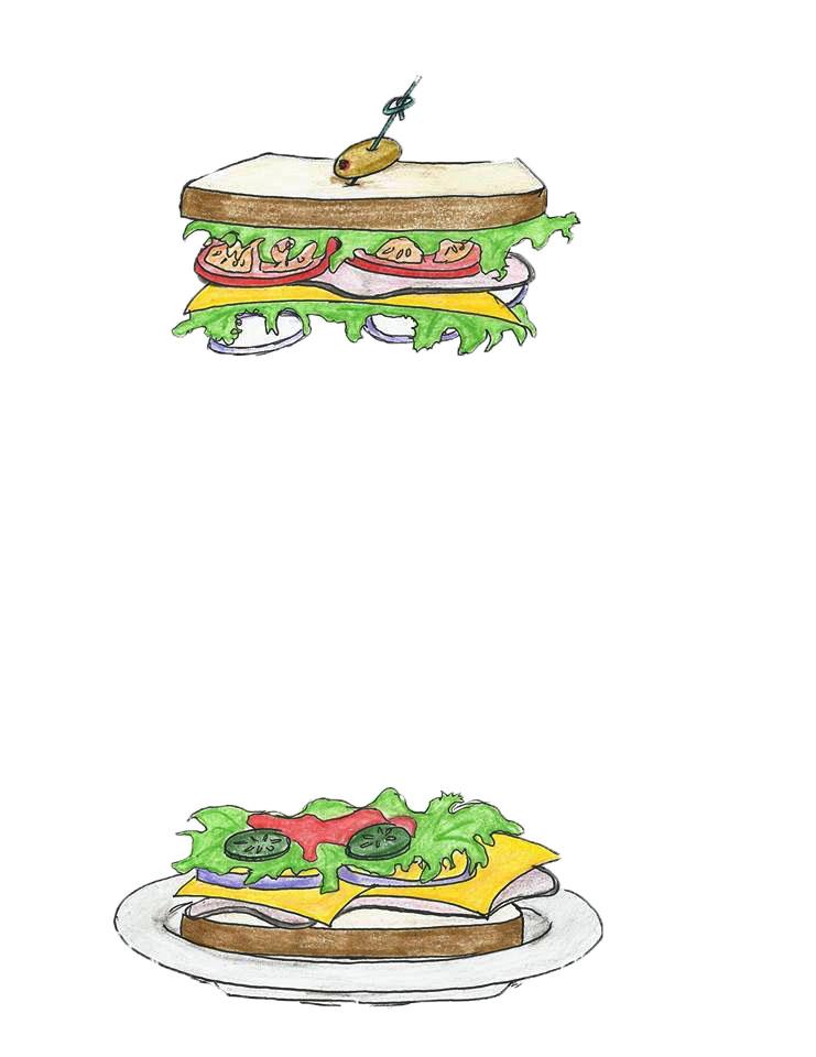 Sandwich line loyalty rewards the patient