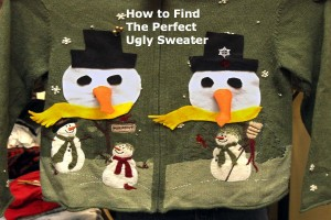 The perfect ugly sweater