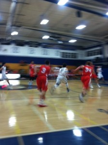 Staples boys' basketball vs. Greenwich