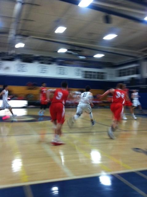 Staples boys' basketball vs. Greenwich