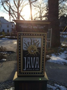 Java coffeehouse has students a-buzz