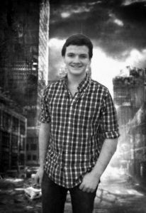 "Apocalyptic Author: James O'Brien '17 won third place in the Arisia 2014 Convention's Student Writing Contest with his story ""Orange,"" an apocalyptic science fiction tale set in New York City."