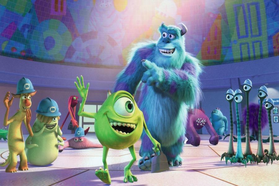 One of the movies involved in the Pixar theory is Monsters, Inc.