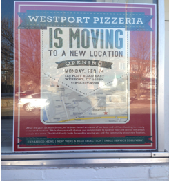 Westport Pizza's Grand Opening, Take Two