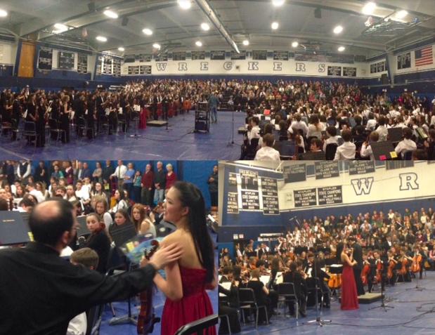 Westport orchestras serenade crowd at festival