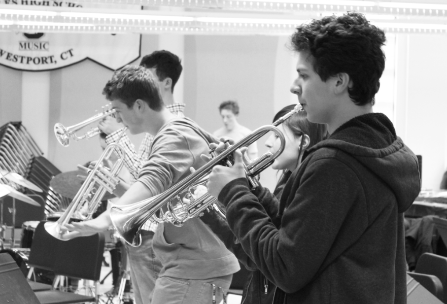 Jazz+band+rarely+toots+its+own+horn