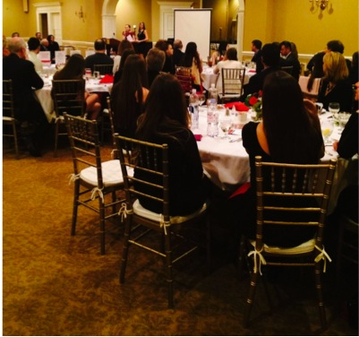 Adults and Staples students alike gathered at the TAG Gala on March 8 and helped raise over $17,000.