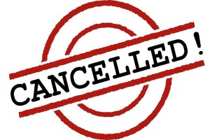 Five shows cancelled too early
