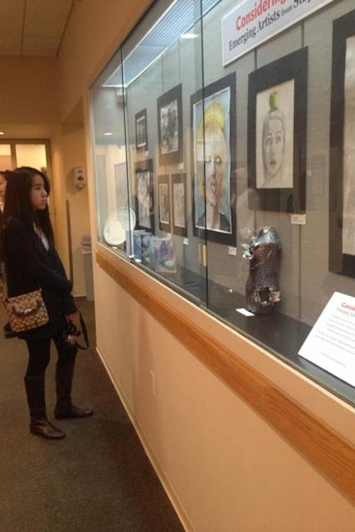 Student art exhibit opens at Westport Library