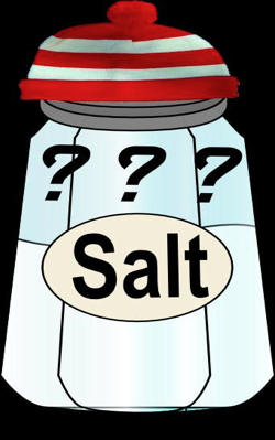 Searching for salt
