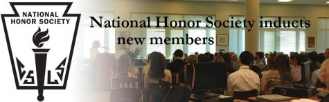 Schager inspires audience at National Honor Society Induction
