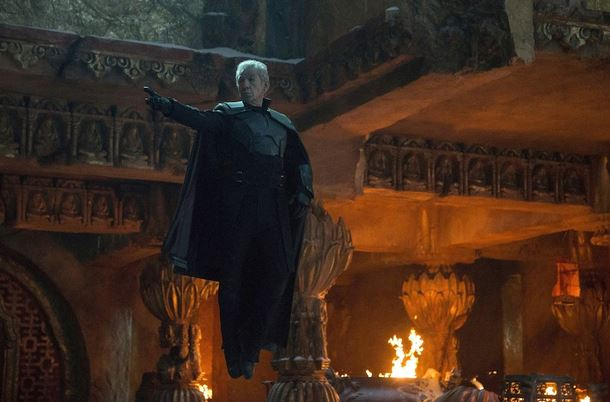 "Sir Ian McKellen, who plays the older Magneto, in a scene from ""X Men: Days of Future Past."""