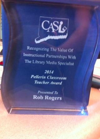 Staples teacher takes home a Pellerin award