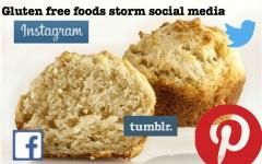 Gluten free foods storm social media