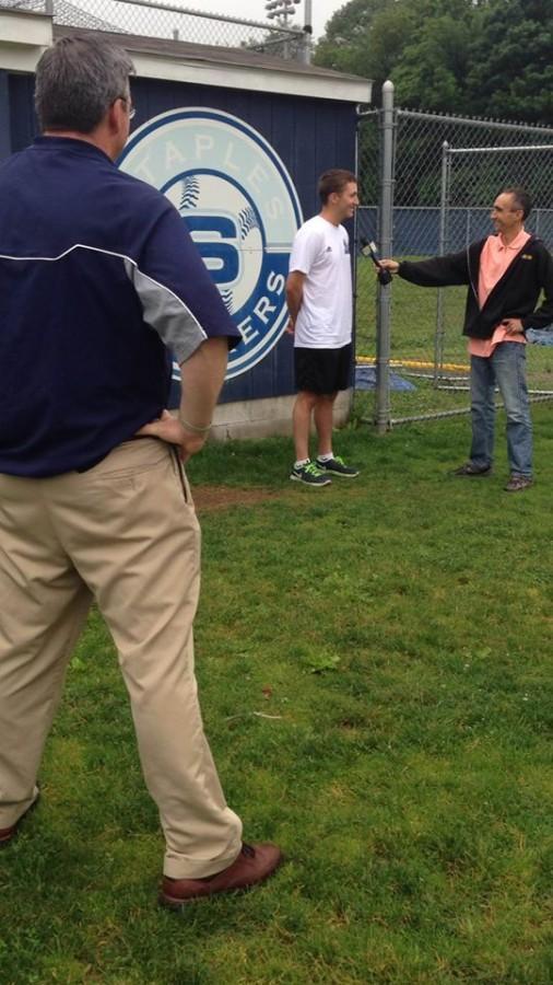 Baseball interview