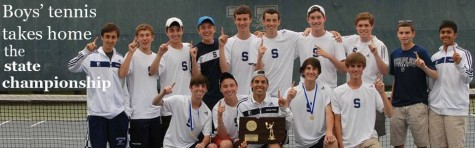 Staples boys' tennis takes home the state championship