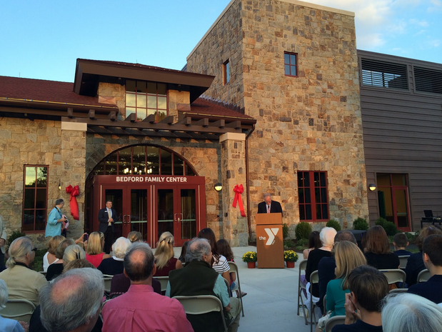 Ribbon cutting takes place for new YMCA