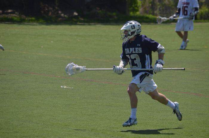 Lacrosse players face-off for early recruitment