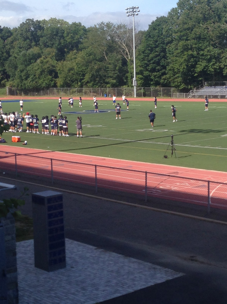 During a Sept. 10 practice, the Staples football team went through final preparations for Friday's game.