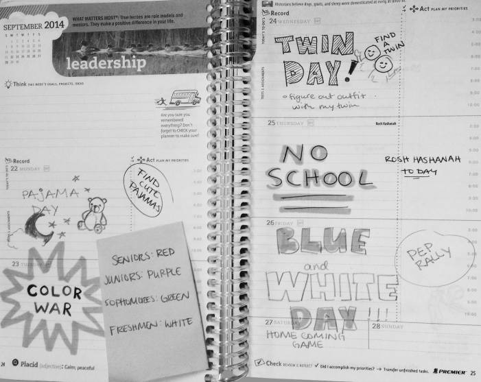 Spirit+week+schedule+conflicts+with+Rosh+Hashanah++