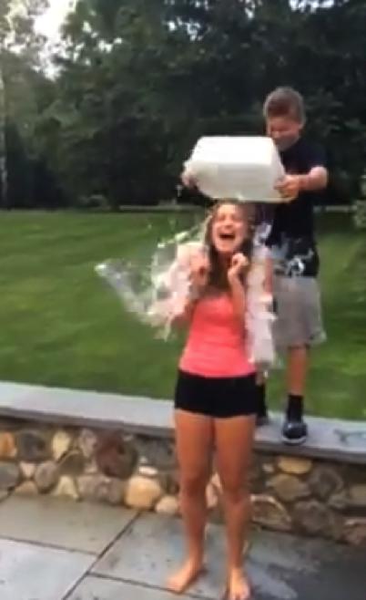 Five ice bucket challenges that make a splash
