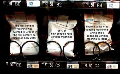 Vending machines go unused and unnoticed