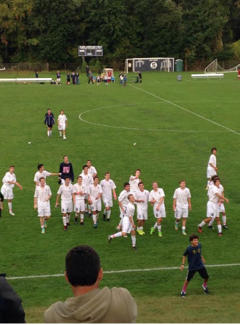 Staples boy's soccer wins in a shutout against Central High School