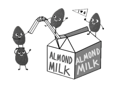 New trend of almond milk causes Staples to go nuts