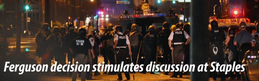Ferguson decision stimulates discussion at Staples
