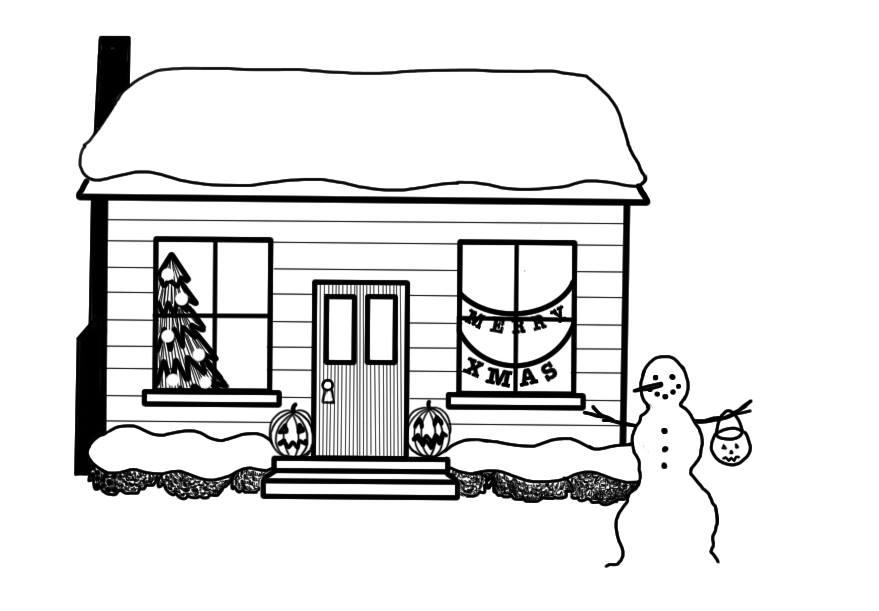 Halloween haunts homes well into winter