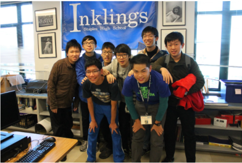 Nine students traveled all the way from Singapore to visit Staples High School for two weeks and experience the American education system.