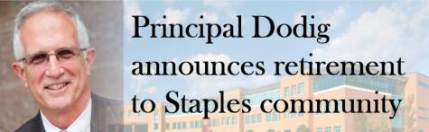 Principal Dodig announces retirement to Staples community